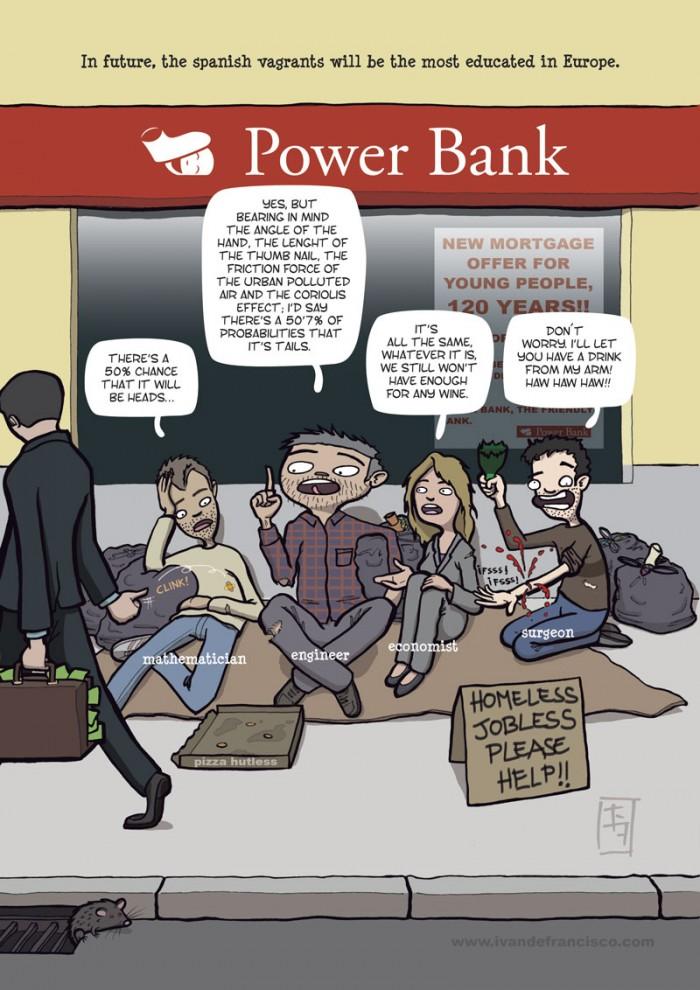 Power Bank comic